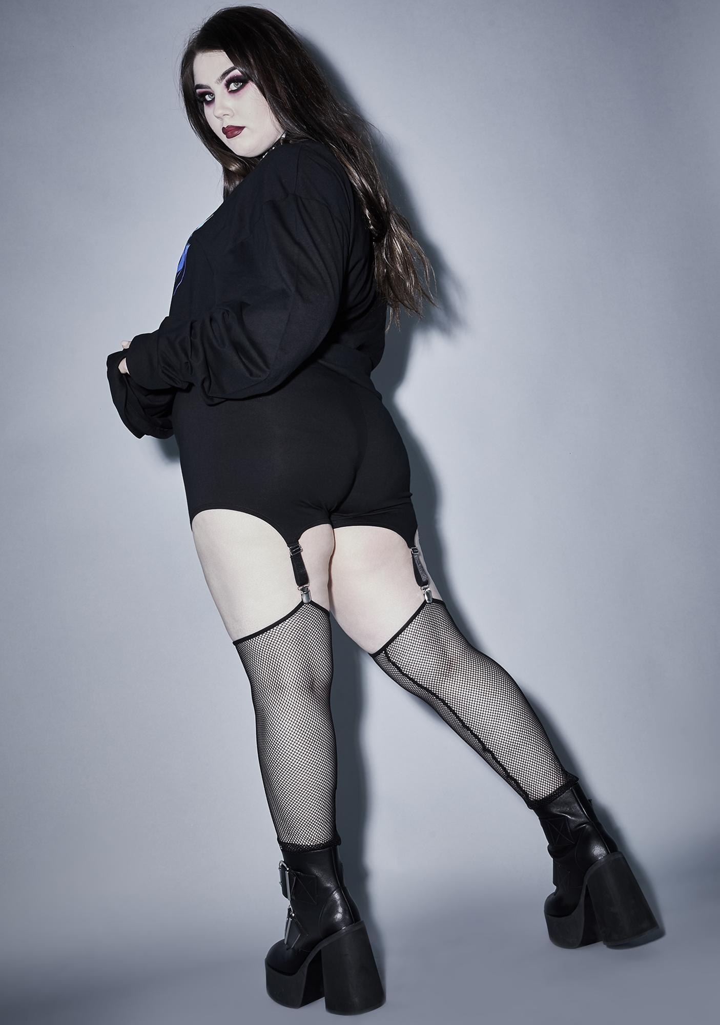 Widow Forever Lost In The Void Garter Leggings