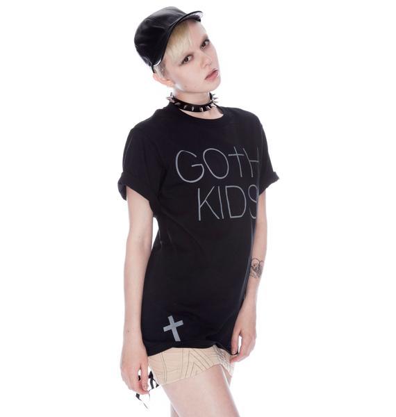Shop W.A.S. Goth Kids Tee