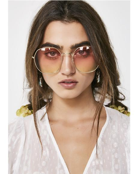 Starlit Oversized Sunglasses