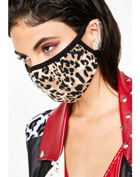 Feline Feisty Leopard Mask