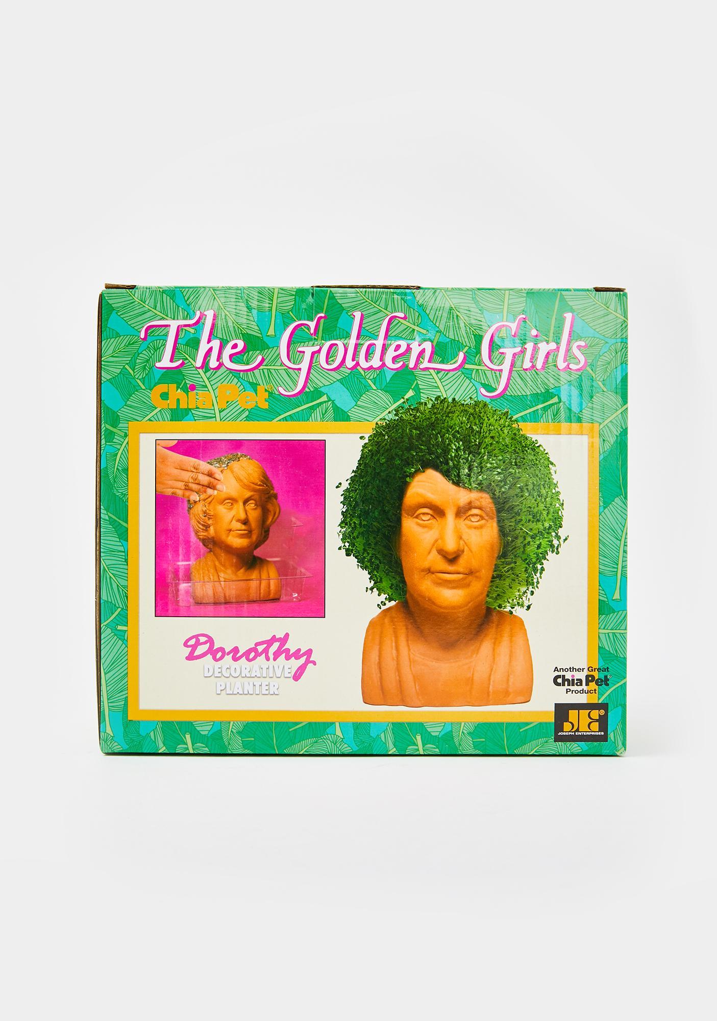 Chia Pet Golden Girls Dorothy Planter