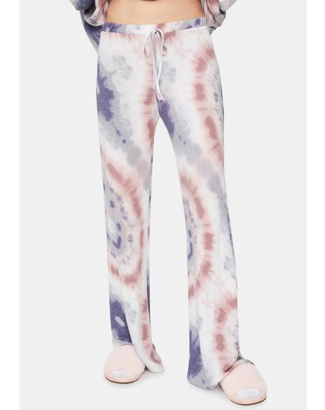 Aqua Coast Cruisin' Tie Dye Lounge Pants