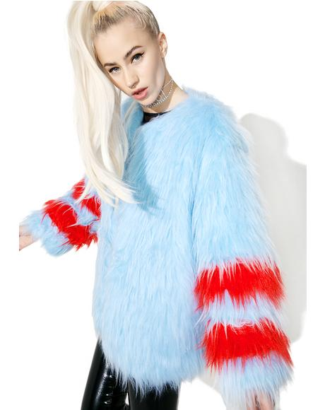 Ziggy Faux Fur Coat