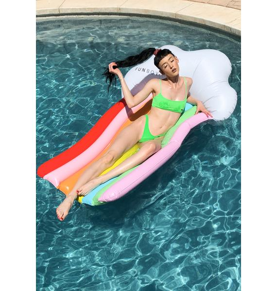 FUNBOY Rainbow Cloud Lounger Float