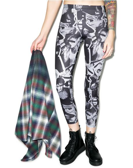 Hellz Babes Leggings