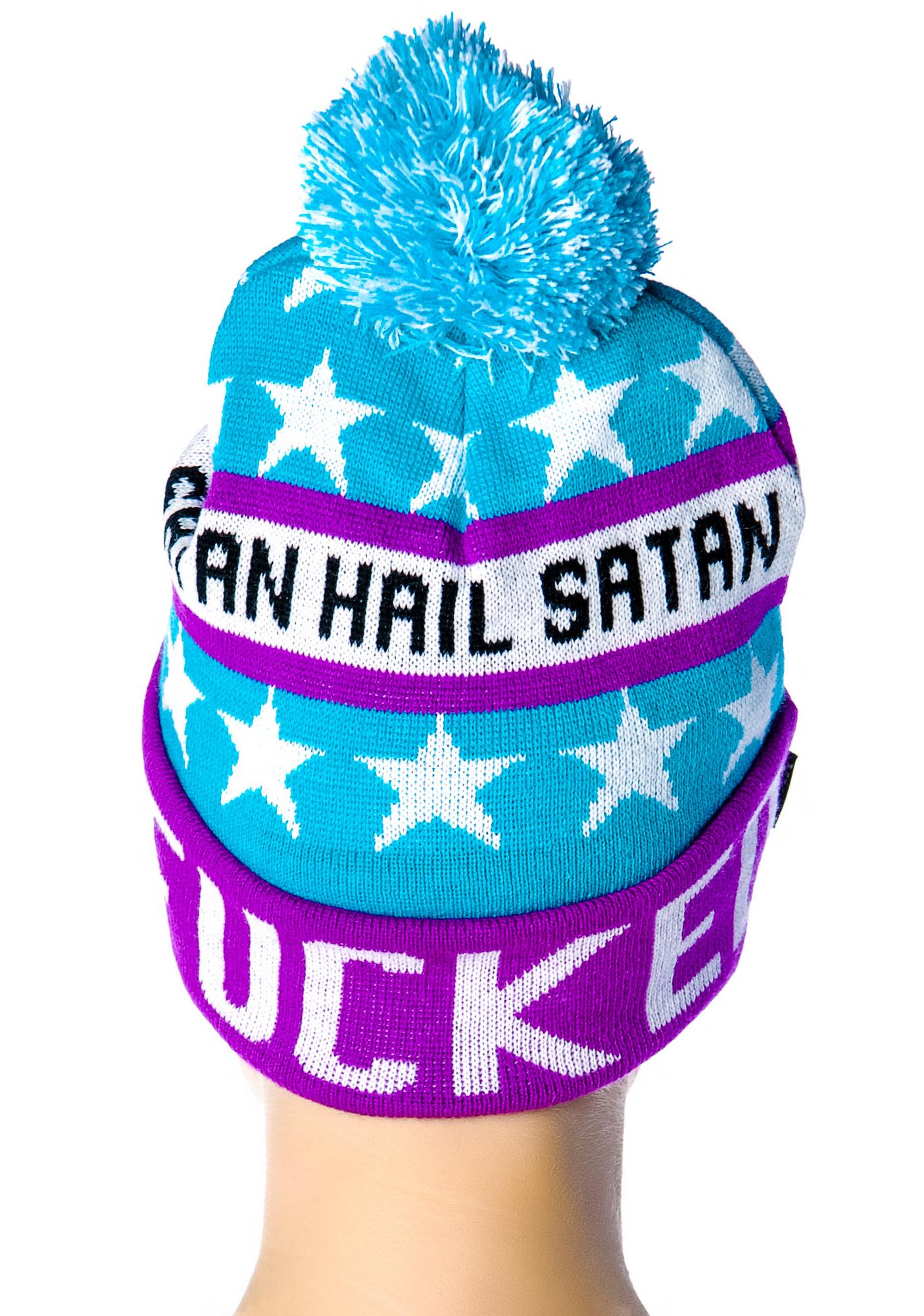 Killstar Totally Fucked Beanie