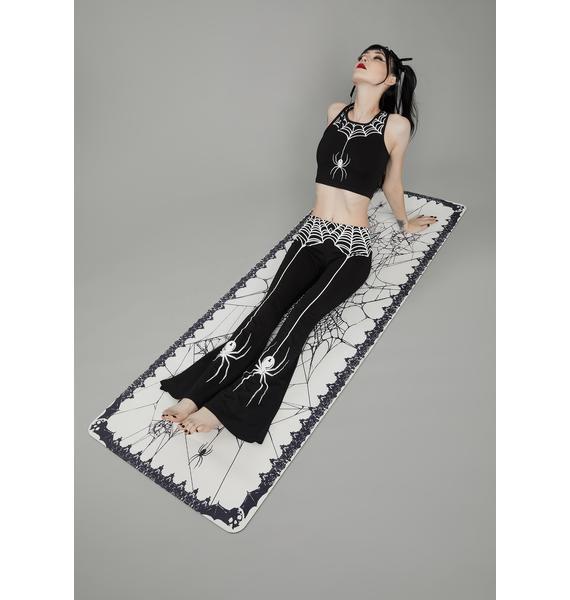 Dolls Kill Web Of Secrets Yoga Pants