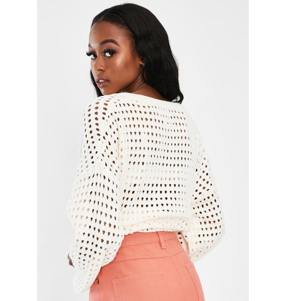 Mink Pink Tia Diamond Yoke Mini Skirt