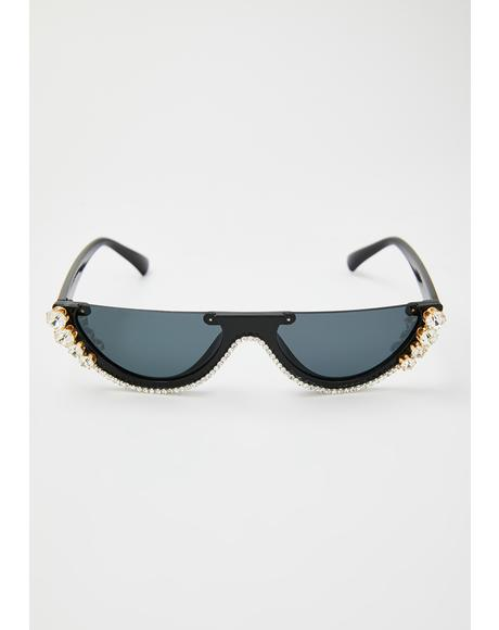 Into My Groove Cat Eye Sunglasses