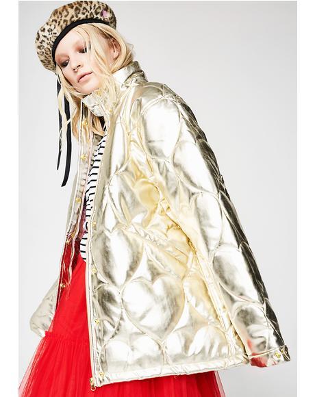 Golden Child Puffer Jacket