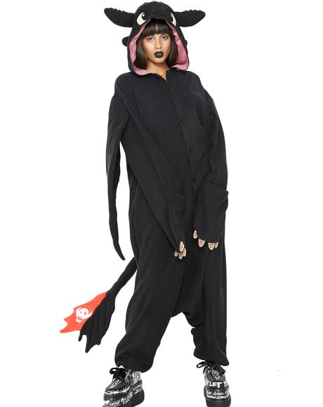 Toothless The Dragon Onesie