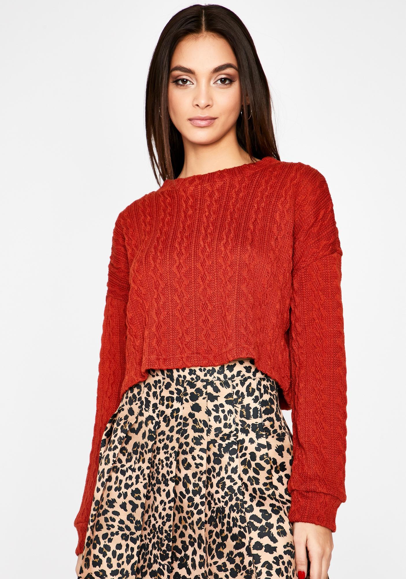 Tis The Season Knit Sweater