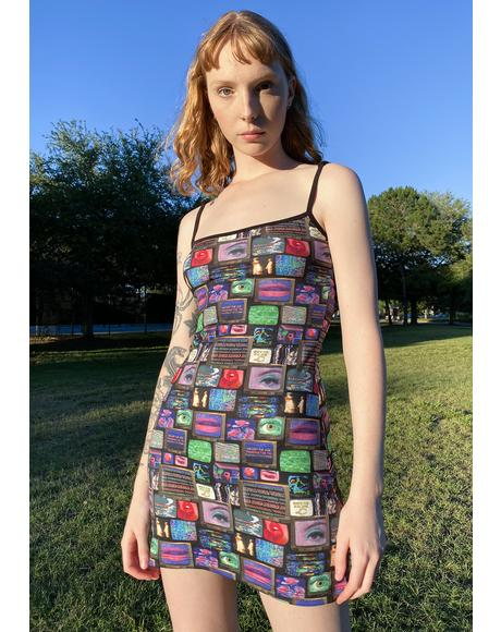 Technical Difficulties Mini Dress