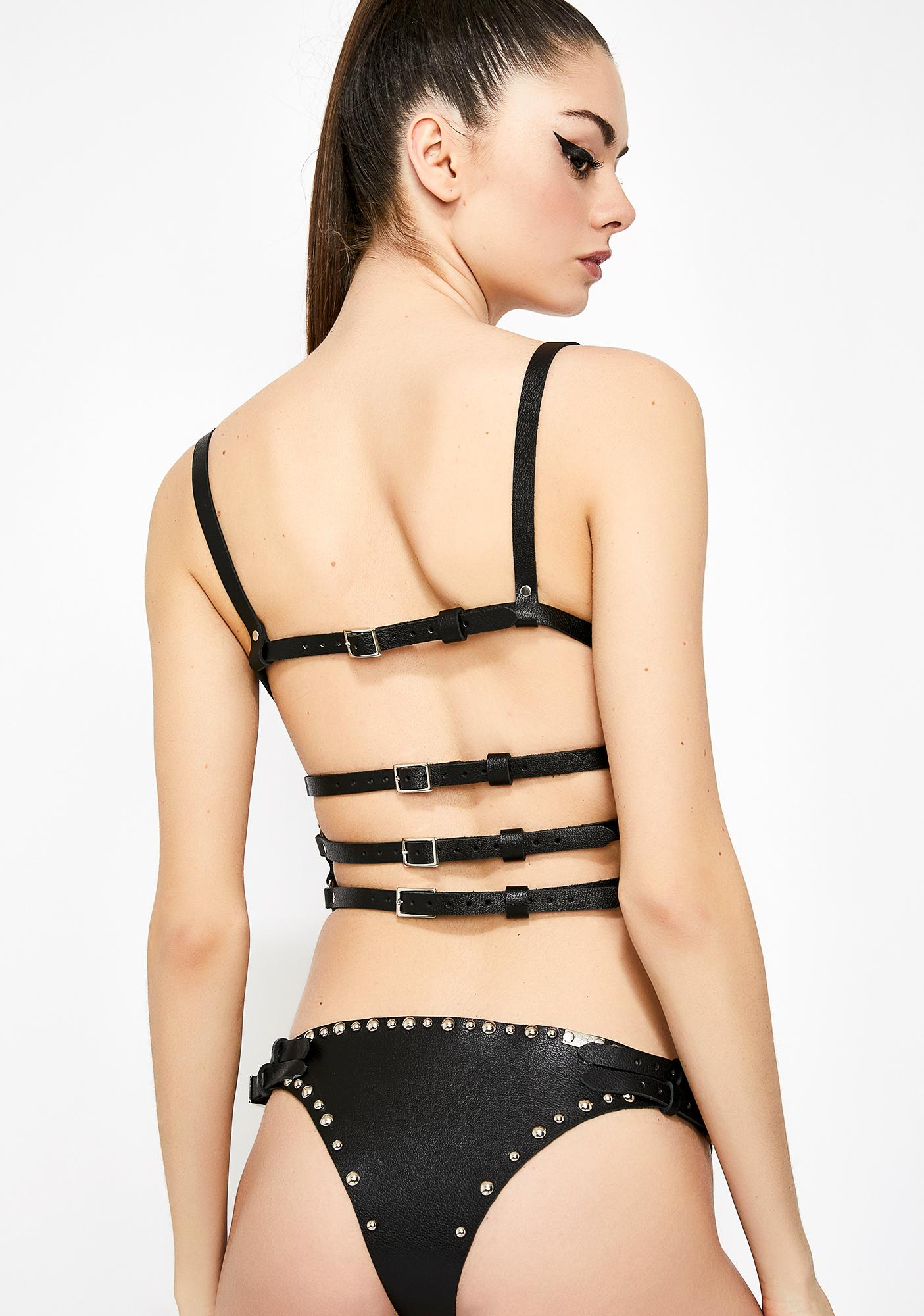 H.O.S. LEATHER Hendrix Panties