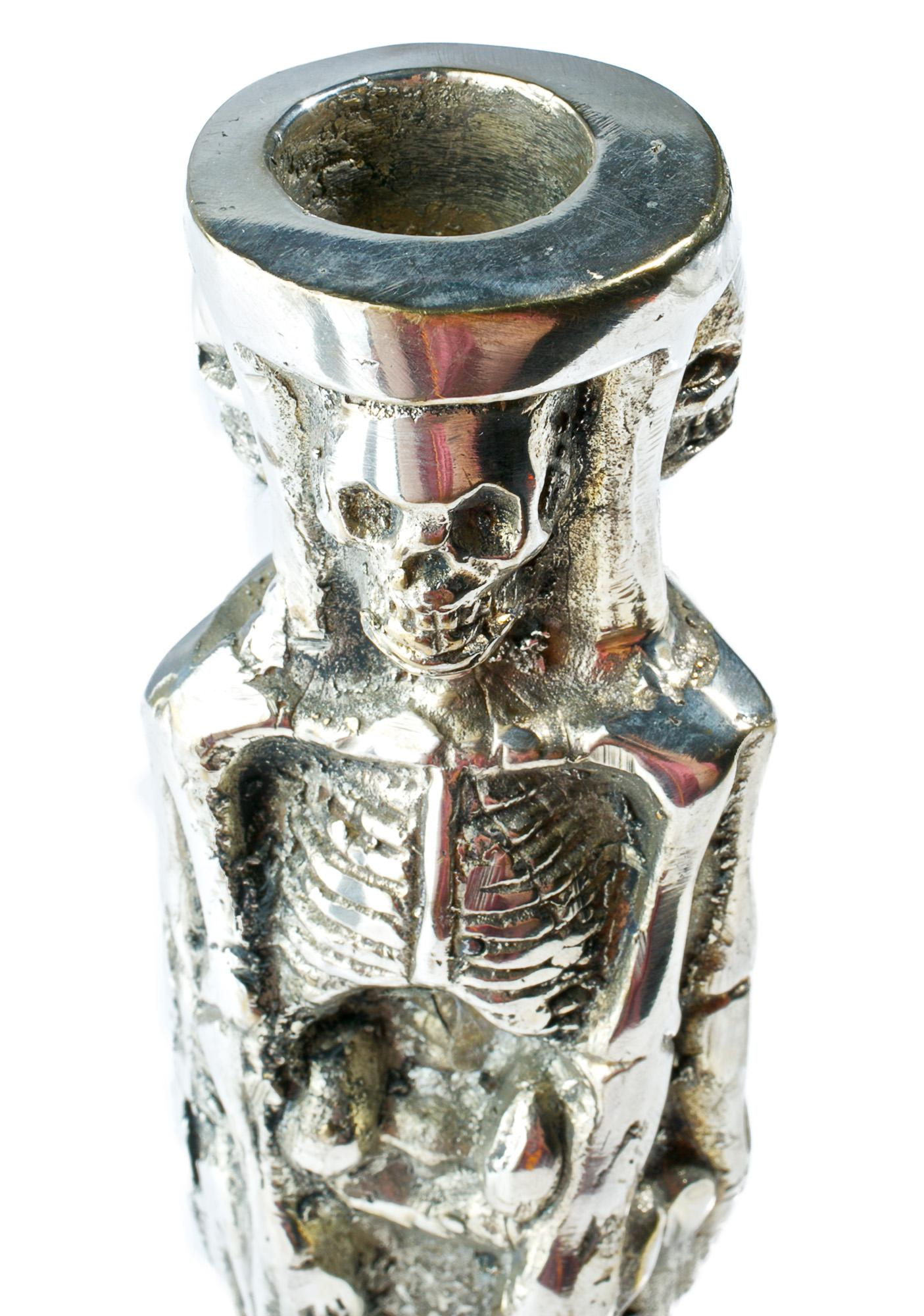 Merciful Death Candle Holder