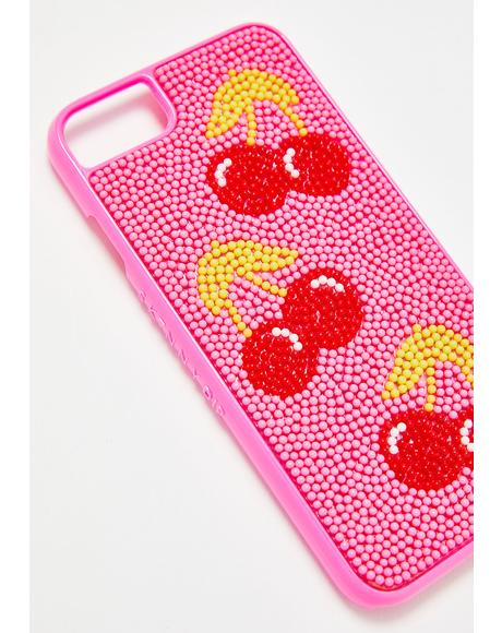 Cherry Bead Case