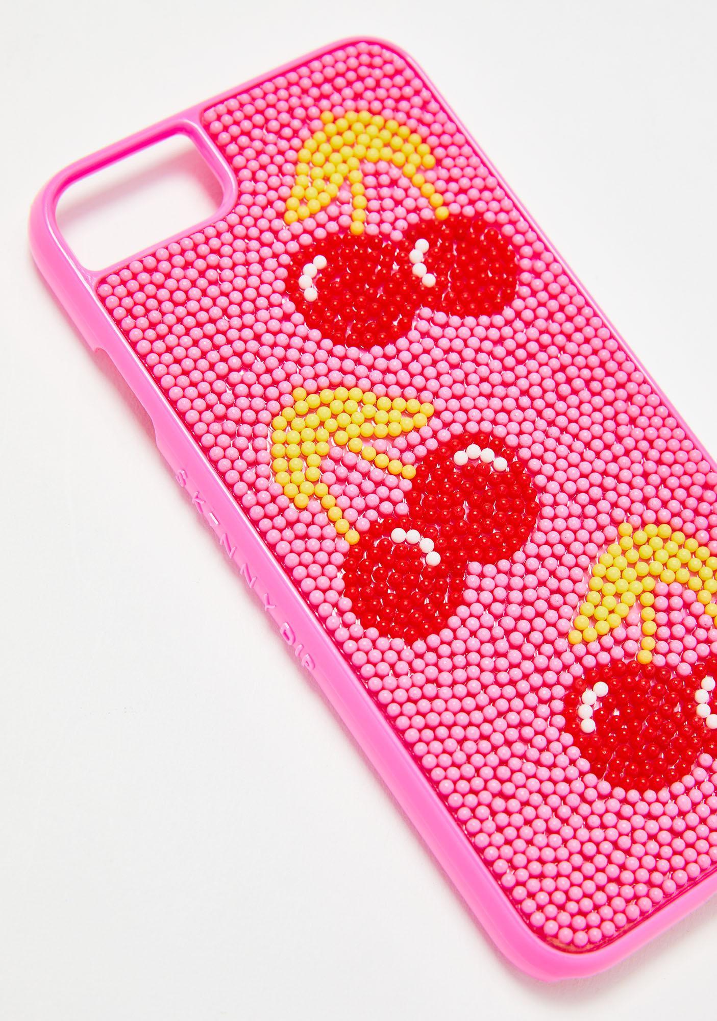 Skinnydip Cherry Bead Case