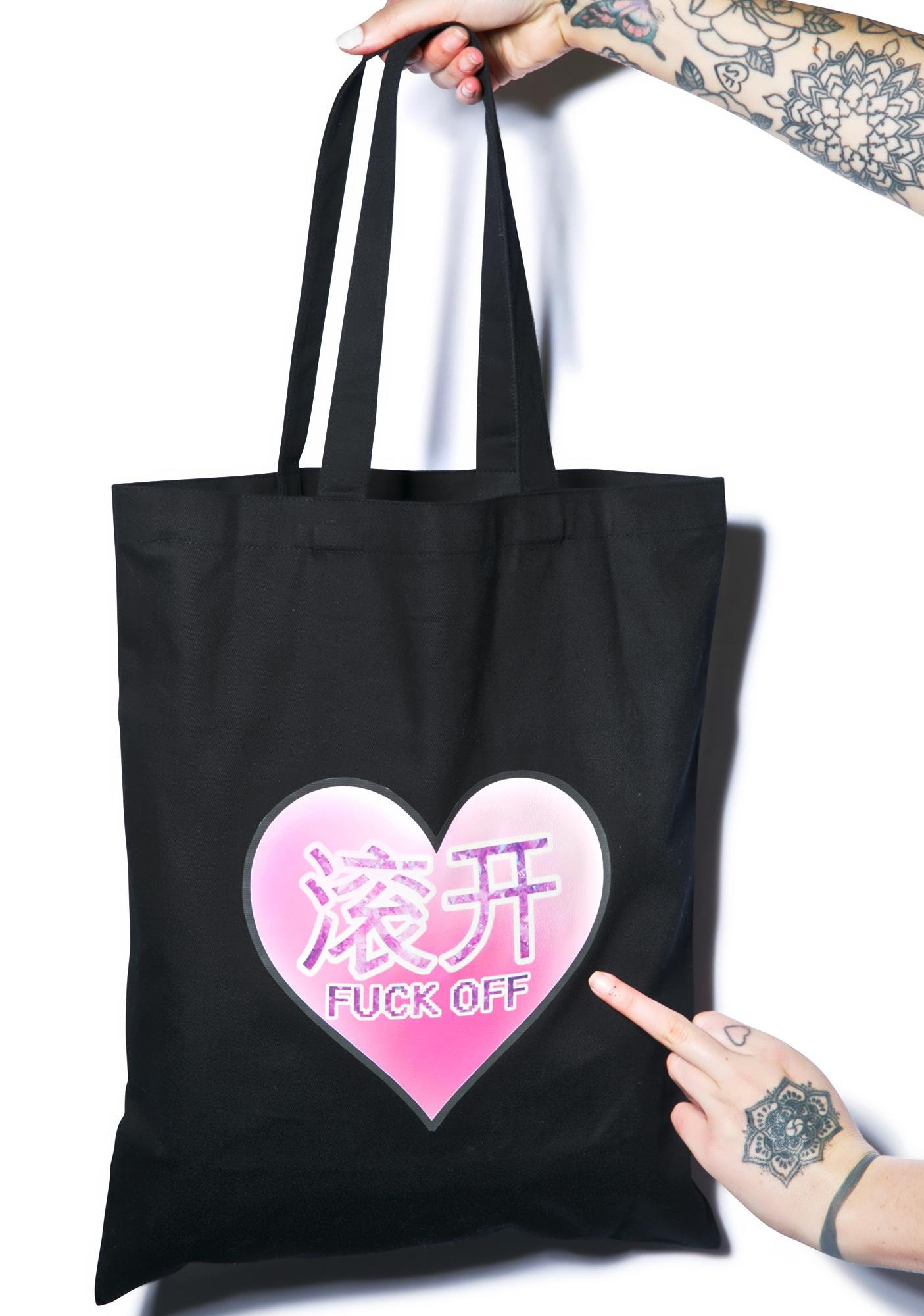 Fuck Off Tote Bag