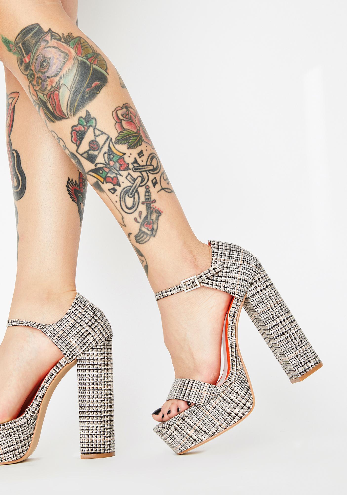 Proper Slay Platform Heels by