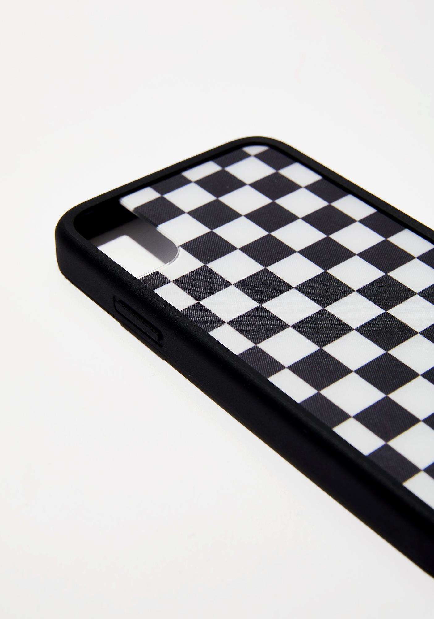Wildflower Checkered IPhone X Case