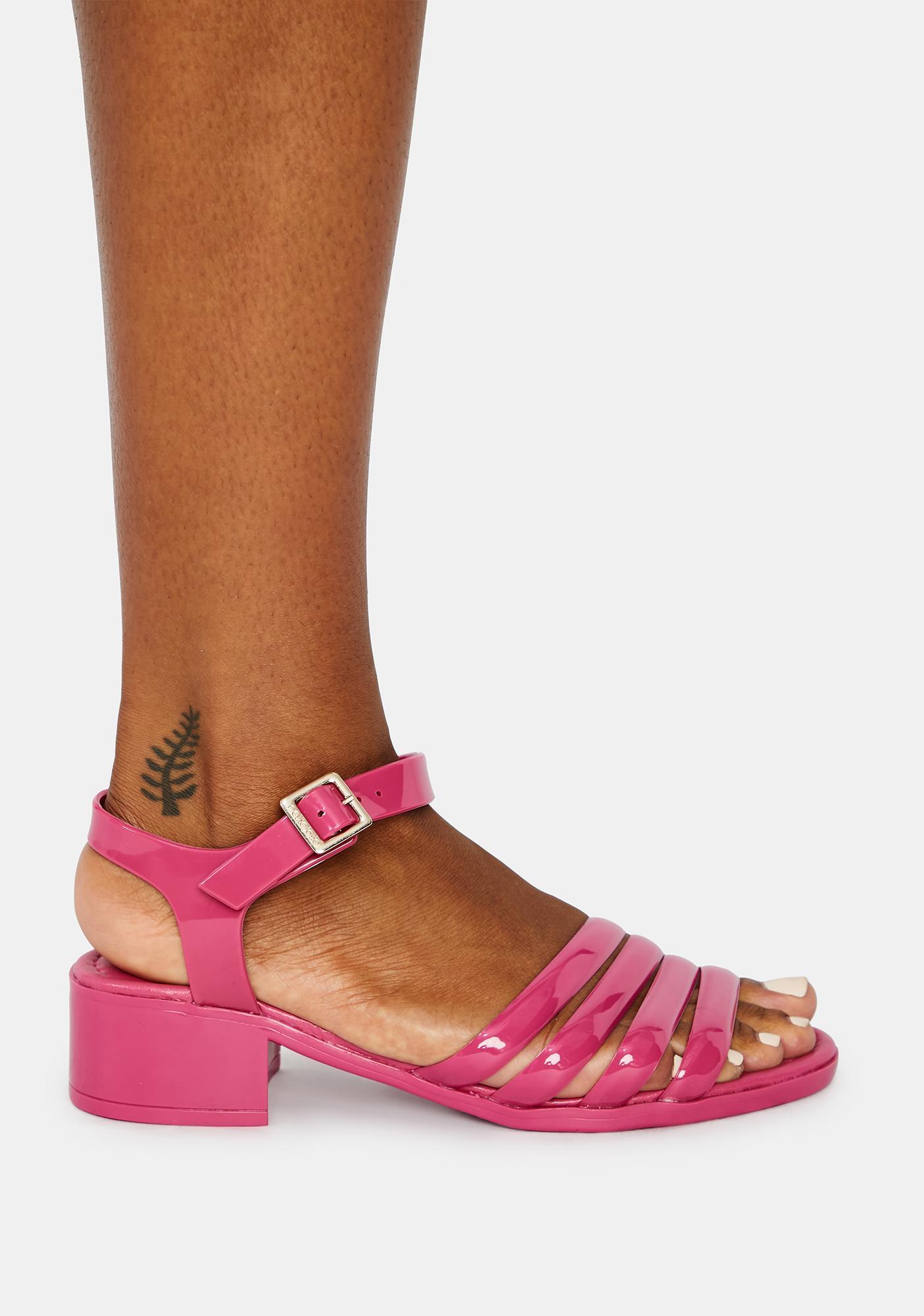Petite Jolie Flirty York Jelly Sandals