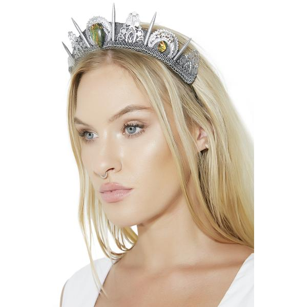 Loschy Designs Silver Abalone Crown