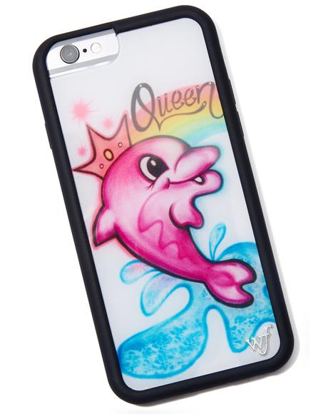 Queen Dolphin iPhone Case