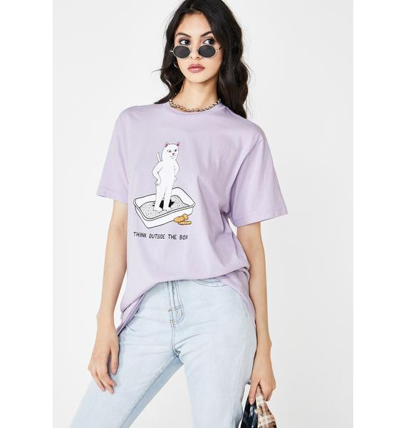 RIPNDIP Think Outside Graphic Tee
