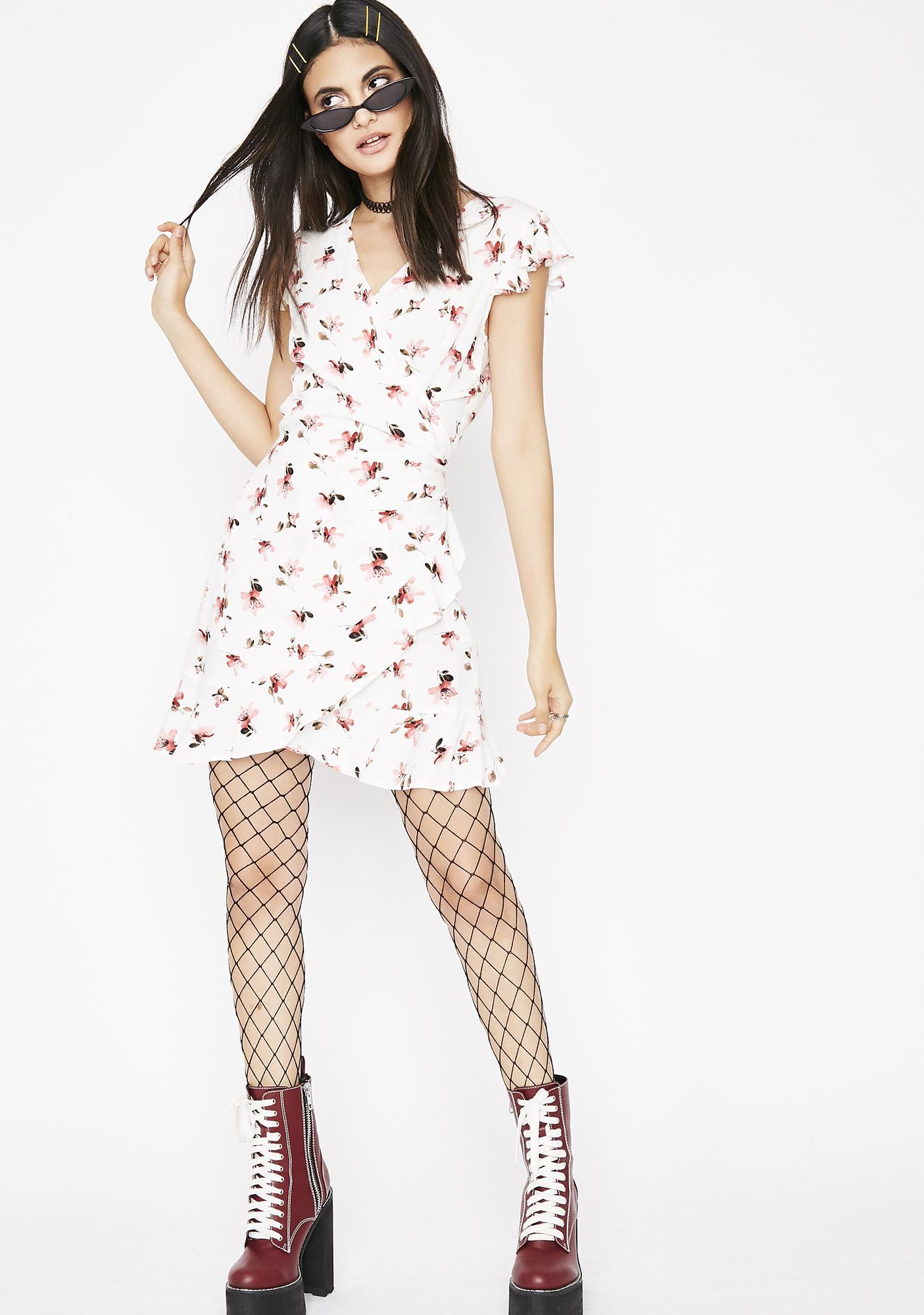 Groundbreaking Floral Mini Dress
