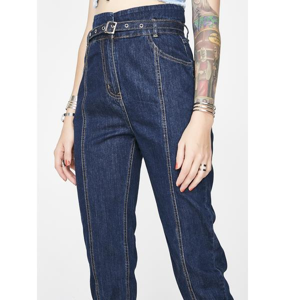 Get Down High-Rise Jeans