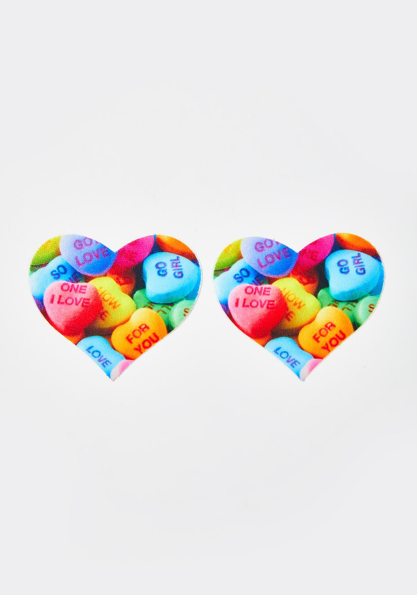 Pastease Valentines Candy Heart Pasties
