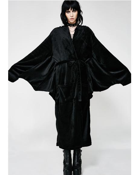 In Mourning Robe