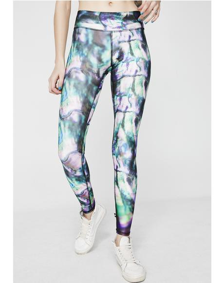 Hippie Dippie Tall Band Leggings