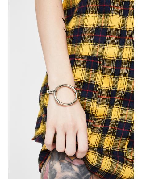 Omg Wtf Chain Bracelet