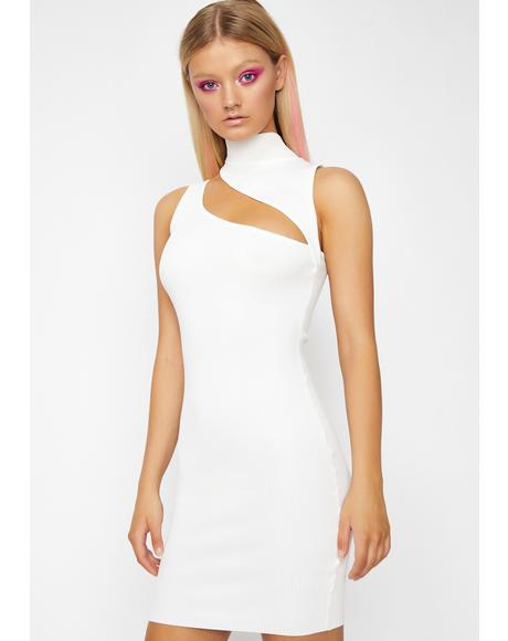 Icy Verified Vixen Cutout Dress