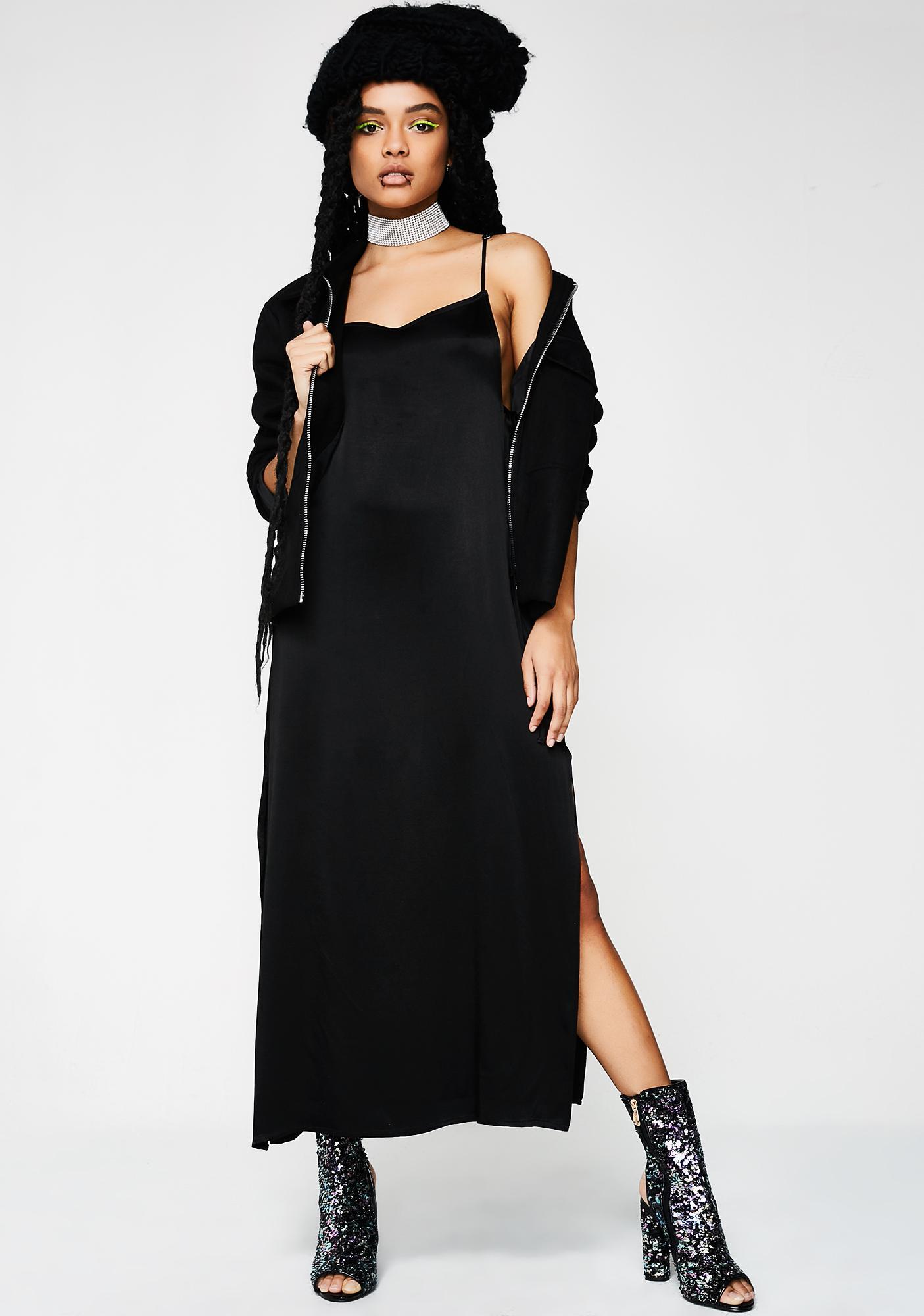 Twiin Slither Slip Dress