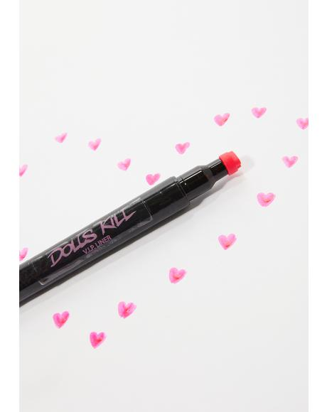 Don't Break My Heart Stamp Liner
