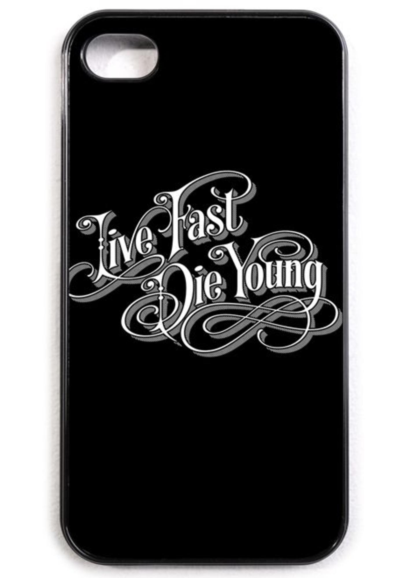 Disturbia Live Fast iPhone 4/4s Case