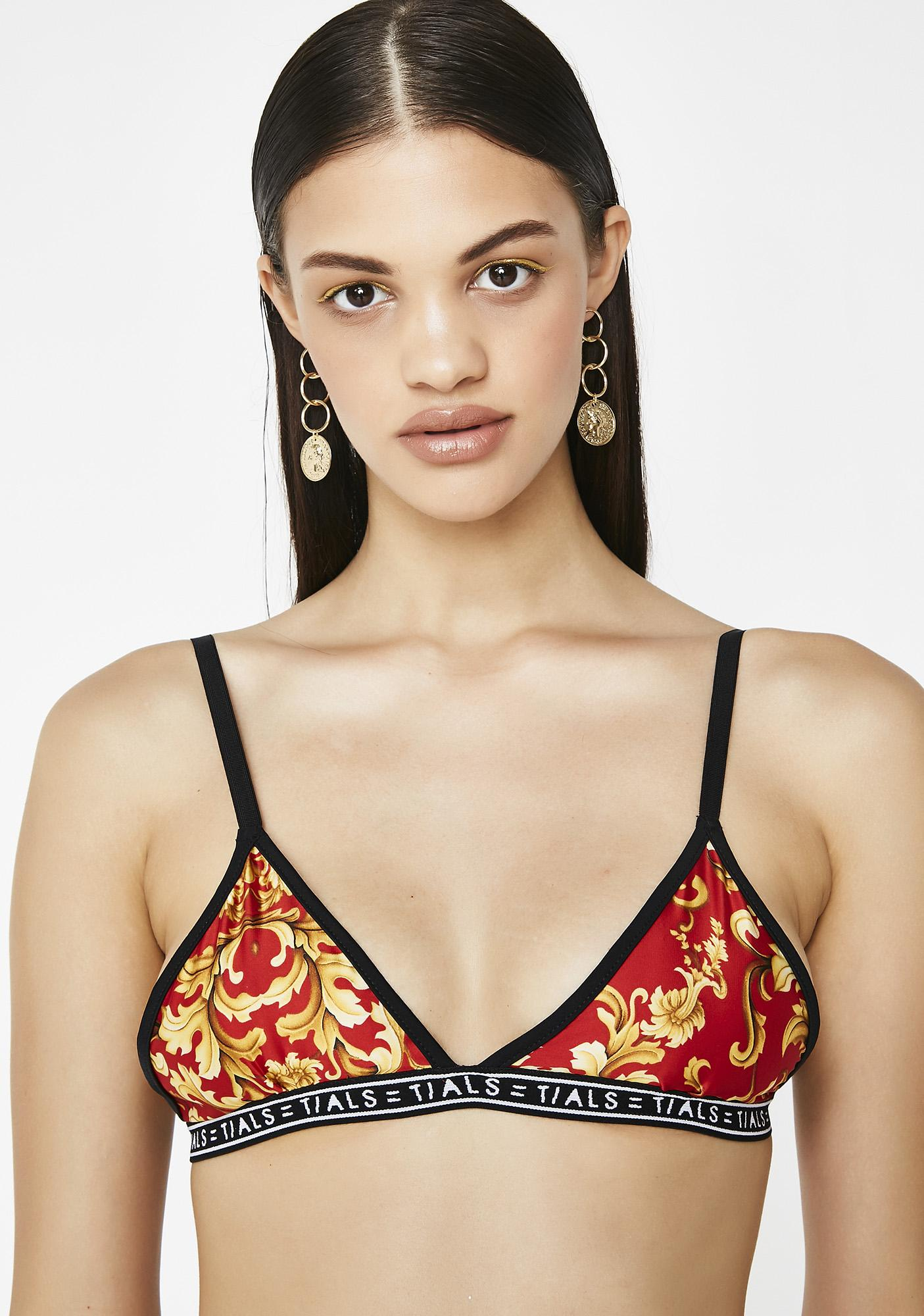 This Is A Love Song x Baroque Fire Simple Bra
