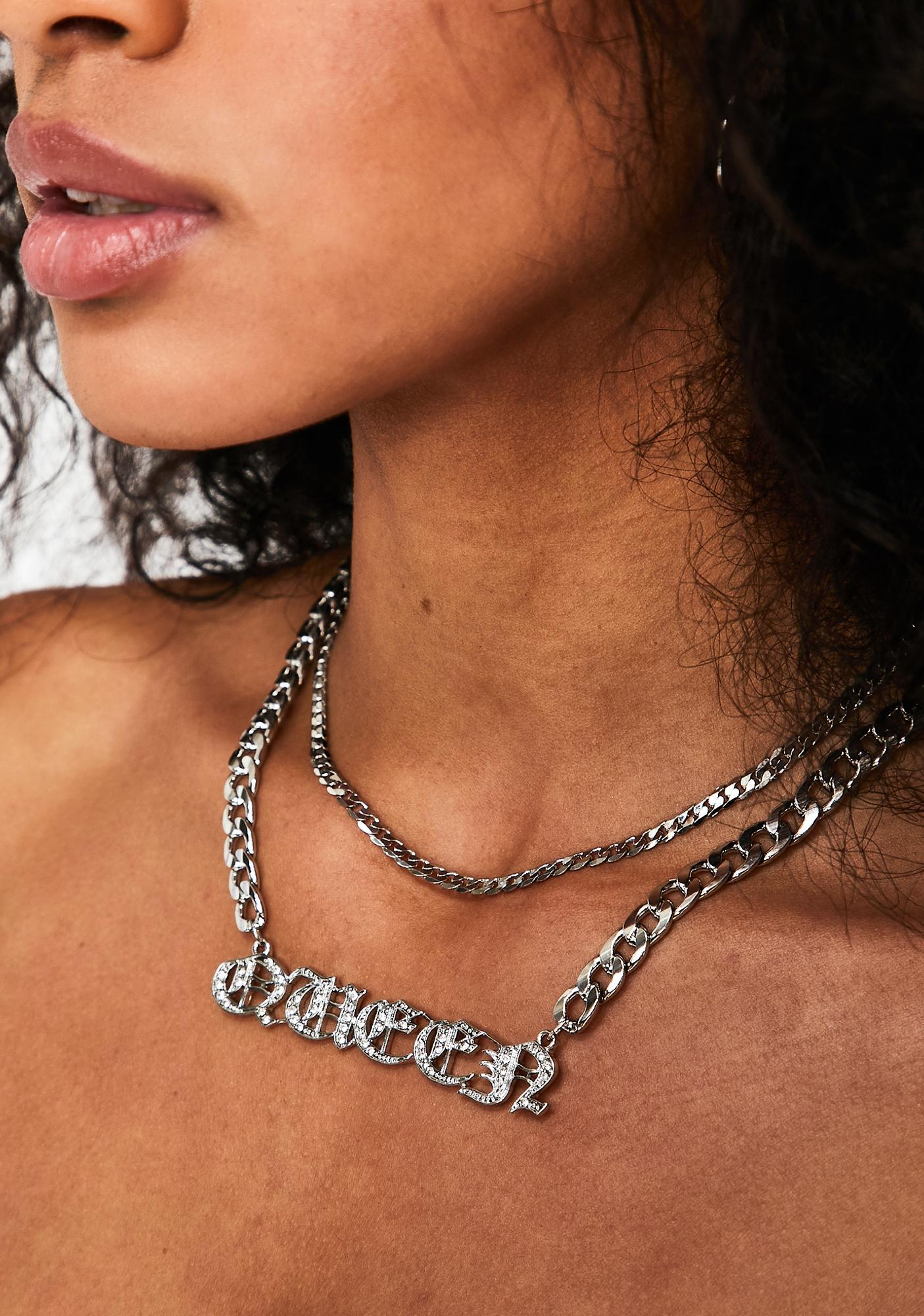Crown The Queen Chain Necklace