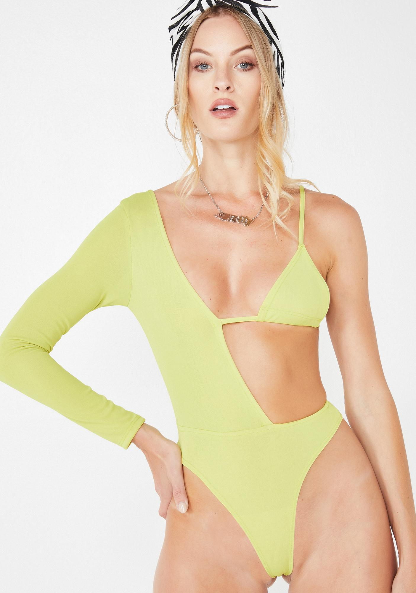 Plugged NYC Dank Hot N' Cold Bodysuit