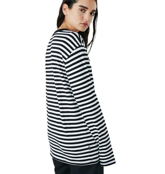 Obey Eighty Nine Icon Long Sleeve Tee