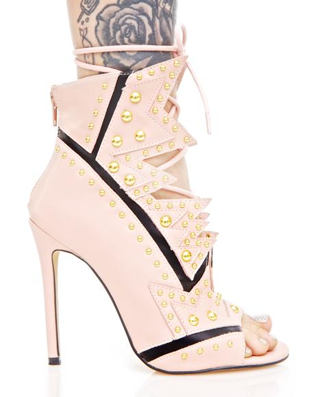 Bang Bang Cut-Out Heels