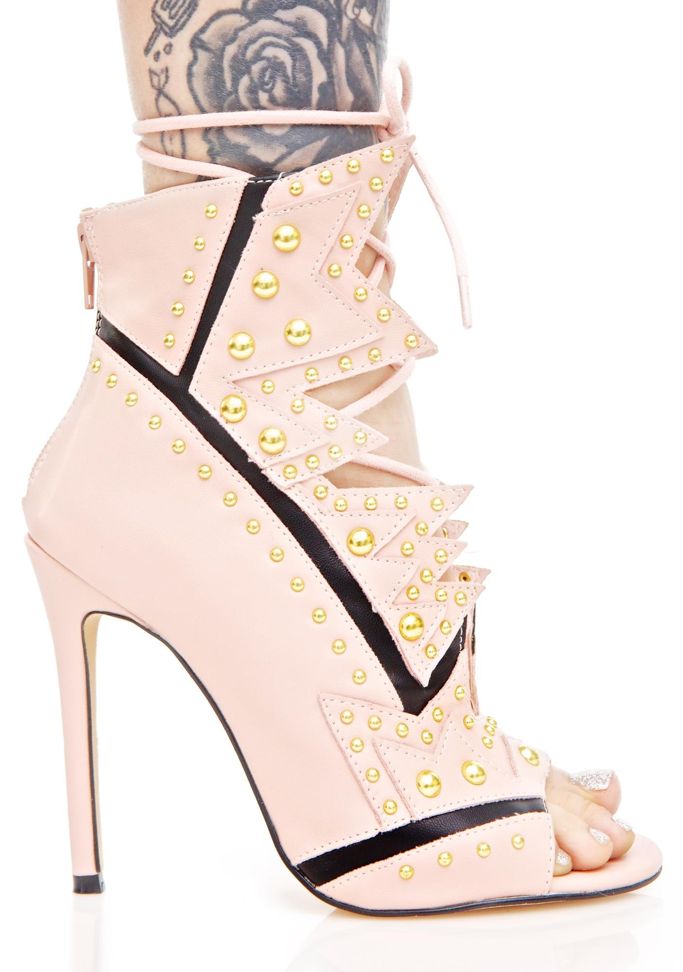 Privileged Bang Bang Cut-Out Heels