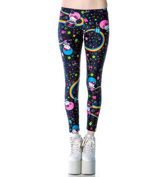 Japan L.A. Hello Kitty Afro Leggings