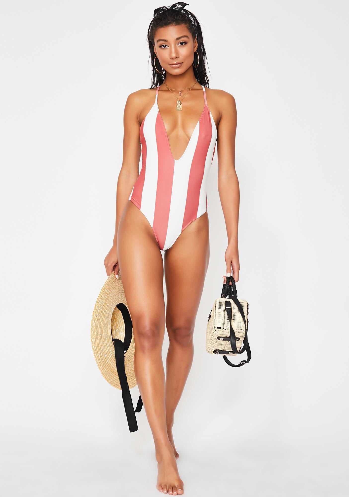 Lira Clothing Tropez Reversible One-Piece Swimsuit