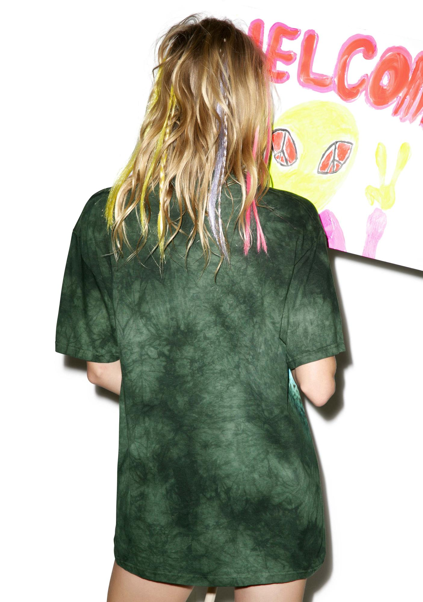 Herbal Re-Leaf Tie Dye Tee