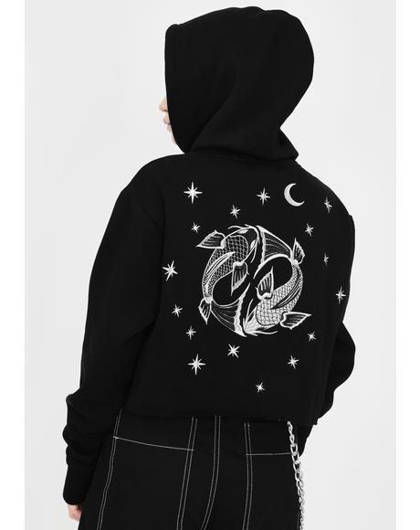 Pisces Magick Graphic Hoodie