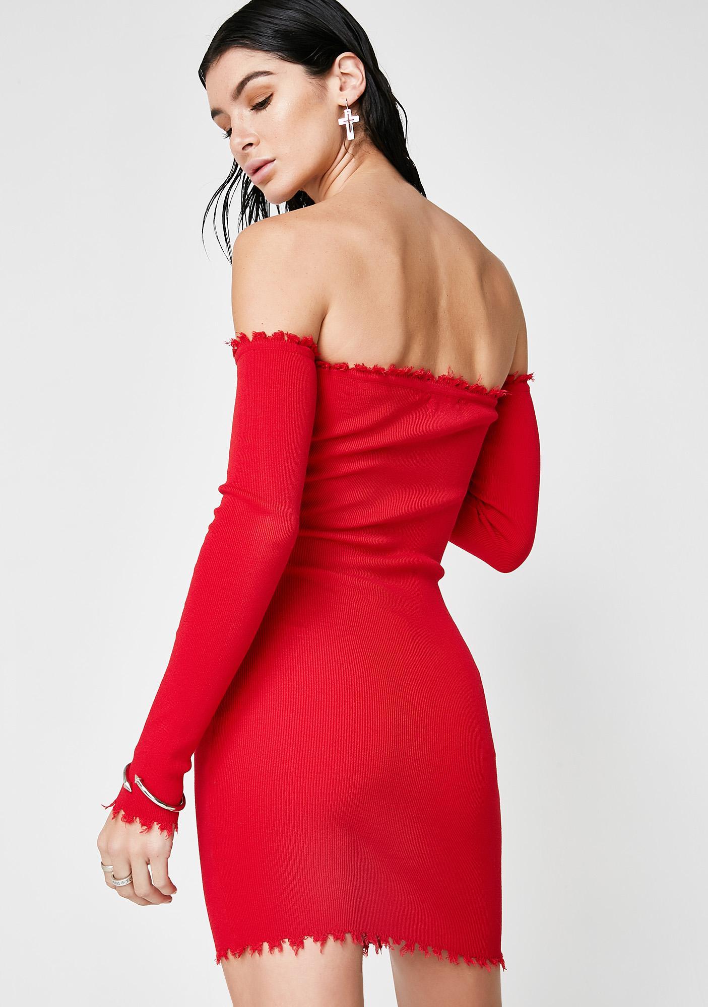 In The Raw Mini Dress