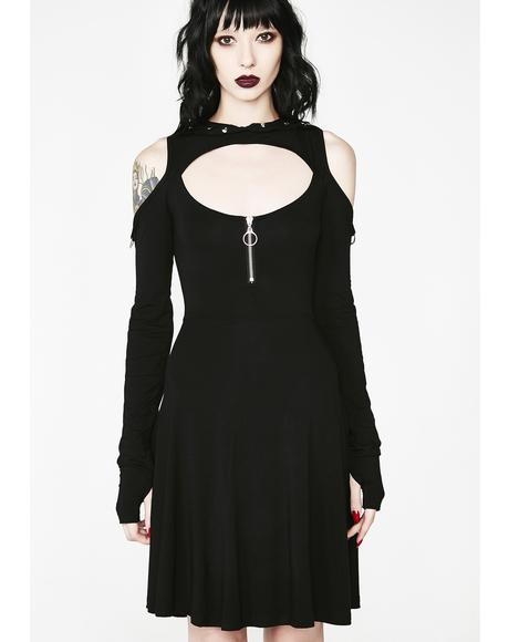 Spirit Walker Hood Dress